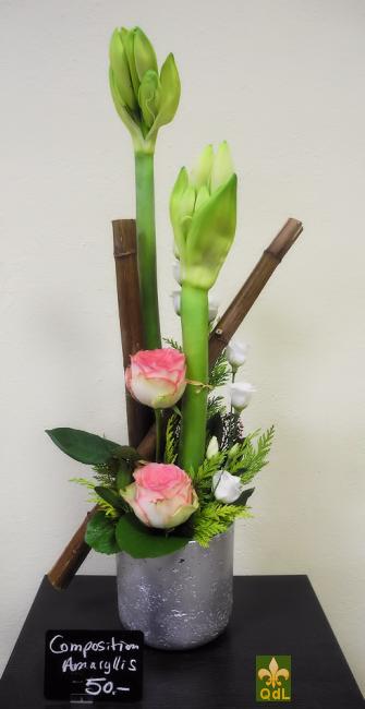 Amaryllis , Rose , Lisianthus